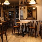 アート系カフェ