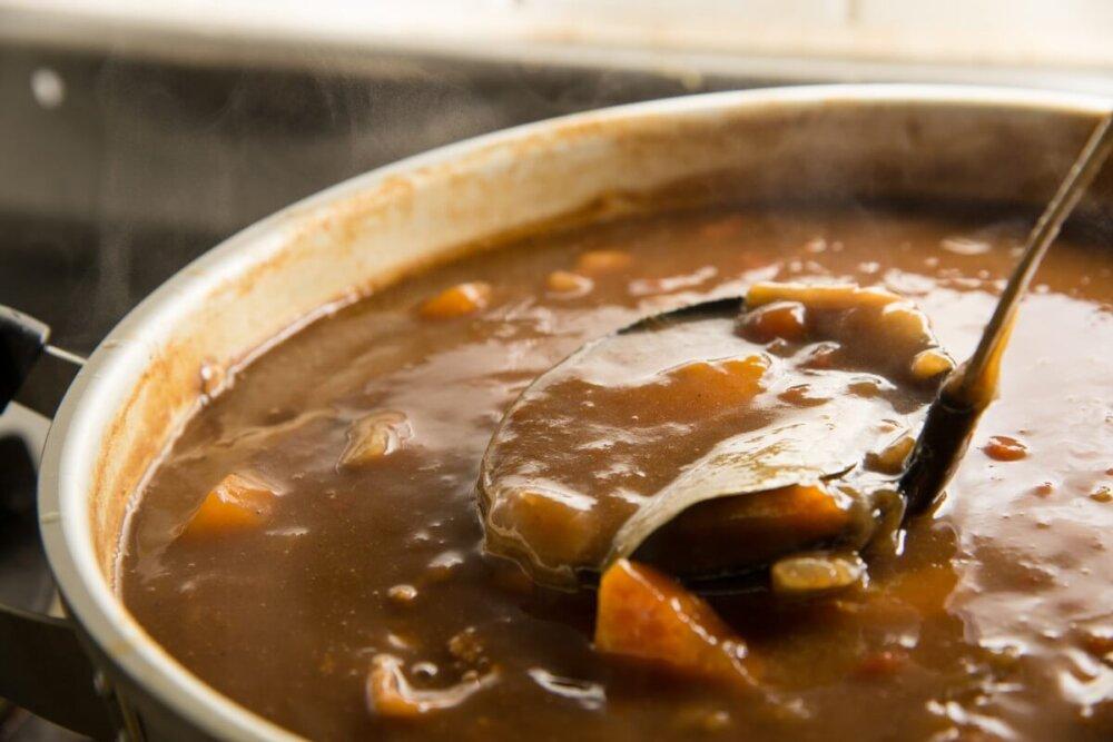 カレーの鍋